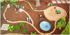 car park for your backyard #kids #summer #play