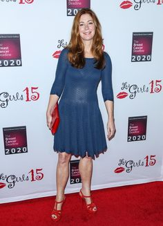 DANA DELANY at 15th Annual Les Girls Cabaret in Los Angeles 10/11/2015
