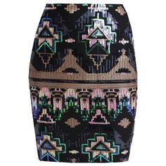 Leuke aparte rok! Perfect voor de feestdagen ♥
