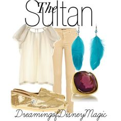 Disney-inspired outfits  The Sultan - Aladdin