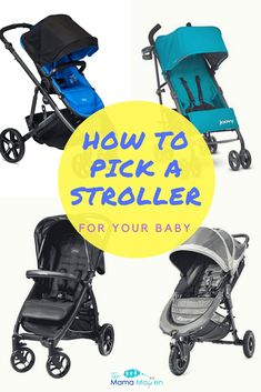 How to Choose a Stroller for Your Baby Double Strollers, Baby Strollers, 8 Month Olds, Travel System, Baby Center, Celebrity Babies, Three Kids, Tandem, Pick One