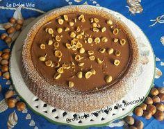 Crostata morbida alle #nocciole e #nutella