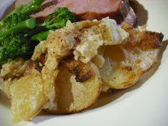 Foodycat: Potato cauliflower gratin