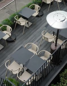 A stylish stay by the sea at Port Hotel Eastbourne Small Table And Chairs, Easy Garden, Garden Ideas, Victorian Townhouse, Garden Makeover, Three Seater Sofa, Hotel Guest, Contemporary Garden, Outdoor Furniture Sets