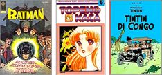 Translated foreign comics (American, Japanese, European) in Indonesia