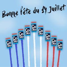 Créa 14 juillet pour CoSto Paris