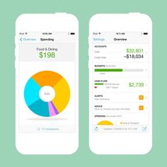 Use this app to track your budget.