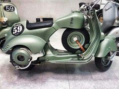 Image result for classic vespa racer