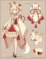 [CLOSED] ADOPTABLE | Sacred Fox by ocono