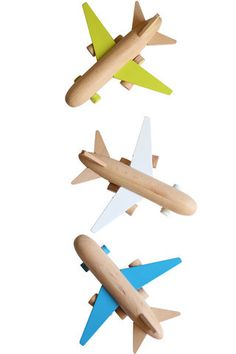 Wooden Airplane Toy