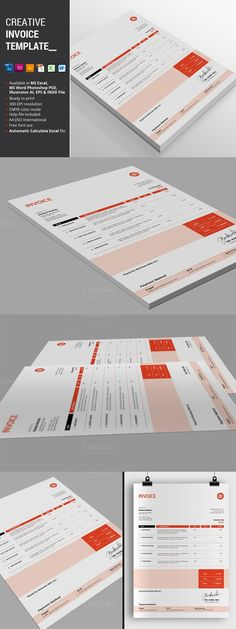Simple HTML Invoice Template Template - business quotation sample