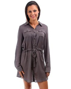 Tunic style tops and dresses
