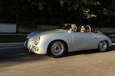 Learning To Drive In A Porsche Speedster Replica • Petrolicious