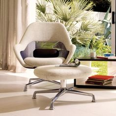 So cool!  Brand new Coalesse SW_1 Lowback Swivel Lounge Chair, Shown with SW_1 Ottoman.  Chair list $1,679.  Many combinations of knit and wool colors. Getting swatches.
