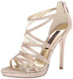 Nina Women's Belinda-JS Dress Sandal >>> Remarkable product available now. : Block heel sandals