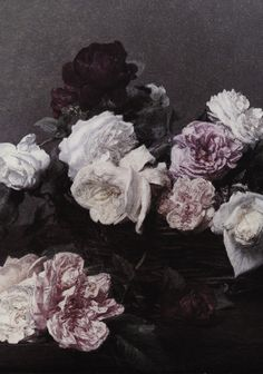 Henri Fantin-Latour A Basket of Roses / inspiration for Power, Corruption, Lies cover art by New Order