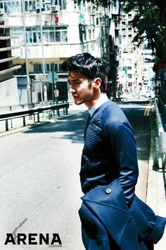 In Hong Kong for Arena Homme