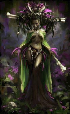 Répertoire Image Fantasy - Page 934 Fantasy Women, Fantasy Girl, Dark Fantasy, Black Girl Art, Black Women Art, Character Portraits, Character Art, Illustration Fantasy, Art Afro