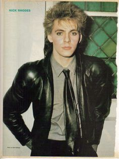 Photo of Nick for fans of Nick Rhodes 22934974 John Taylor, Roger Taylor, Nick Rhodes, Simon Le Bon, Great Bands, Cool Bands, Birmingham, Uk Singles Chart, New Wave
