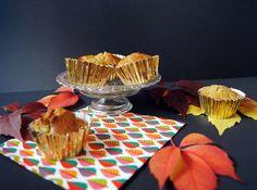 Marzipan-Birnen-Mohn-Muffins - Rezept