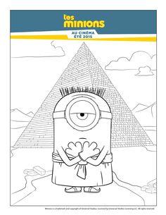 Minions Montessori Coloring Pages Plays Minion Stuff