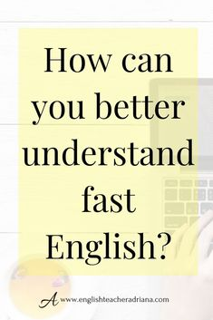 Use these Advanced English Listening Tips to help you better understand fast English conversations. Click the link below to watch the full video lesson English Speaking Skills, English Language Learning, English Class, English Lessons, English Words, English Vocabulary, English For Beginners, Advanced English, Improve Your English