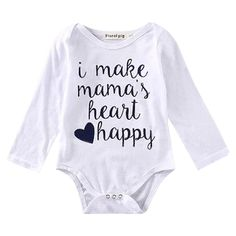 I Make Mama's Heart Happy Bodysuit ⁠⁠⁠⁠
