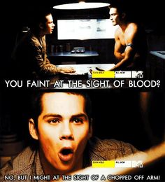 Teen wolf. gotta love stiles!