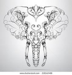thai elephant art - Google Search