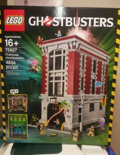 LEGO Ghostbusters Firehouse Headquarters (75827) - http://hobbies-toys.goshoppins.com/building-toys/lego-ghostbusters-firehouse-headquarters-75827/