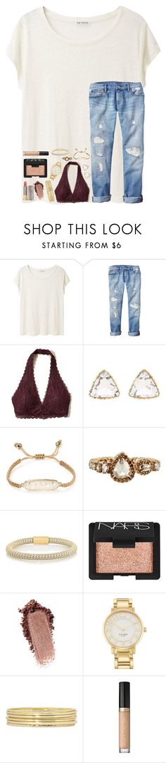 """Untitled #116"" by tortor7 ❤ liked on Polyvore featuring Acne Studios, Gap, Hollister Co., Charlotte Russe, Kendra Scott, Sharon Khazzam, Carolina Bucci, NARS Cosmetics, Kate Spade and Liz Claiborne"