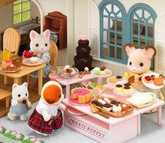 Sylvanian Families Sweet Buffet Set