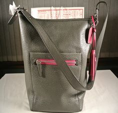 'BNWT, F19913 COACH Legacy Textured Lg. Leather Duffle' is going up for auction at  5pm Thu, Oct 3 with a starting bid of $250.