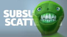 SubSurface Scattering - TUTORIAL de PINTURA