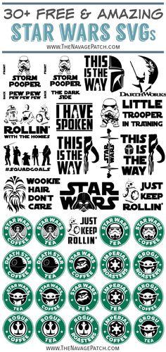 Star Wars Stencil, Star Wars Mugs, Valentines Mugs, Free Stencils, Printable Star, Silhouette Projects, Silhouette Cameo, Cricut Creations, Vinyl Designs