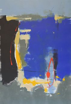 Tony Saladino - Earth Forms III / monotype / 32 x 22 in. image size, 49.5 x 37.5 in. framed / $1,800