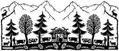 Image associée Paper Cutting, Switzerland, Decoupage, Images, Paper Crafts, Seasons, Laser, Recherche Google, Cnc