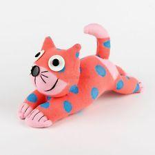Items similar to Children Christmas Gift Handmade Sock Pink Dot Cat Kitty Stuffed Animal Doll Baby Toys on Etsy Handmade Christmas Gifts, Christmas Gifts For Kids, Handmade Gifts, Stuffed Animal Cat, Sock Dolls, Cat Doll, New Year Gifts, Baby Toys, Socks