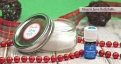 Muscle Love Bath Salts essential oil recipe by Mama Natural