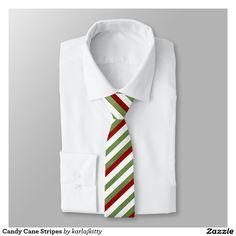 Candy Cane Stripes Necktie