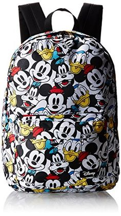 Disney Classic All Over Character Print Backpack