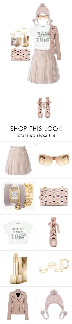 """I don't want to grow up"" by alynncameron ❤ liked on Polyvore featuring Alexander McQueen, ESCADA, La Mer, Karl Lagerfeld, Burberry, MANGO and IRO"