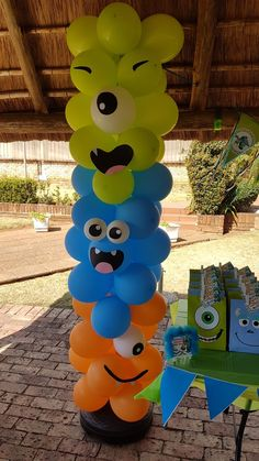 New baby first birthday party ideas monsters inc IdeasYou can find Monster party and more on our website.New baby first birthday party ideas monsters inc Ideas Boys First Birthday Party Ideas, Baby First Halloween, 1st Birthday Themes, Baby Boy First Birthday, Party Themes For Boys, Halloween Birthday, First Birthday Decorations Boy, 2nd Birthday, Halloween Foods