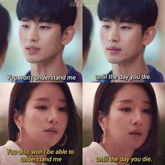 Korean Drama List, Korean Drama Quotes, Korean Drama Movies, Korean Dramas, Korean Actresses, Korean Actors, Drama Words, It Will Be Ok Quotes, Korean Language