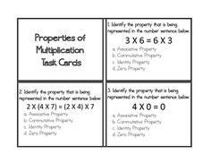 math worksheet : properties of multiplication identity  properties of  : Identity Property Of Multiplication Worksheets