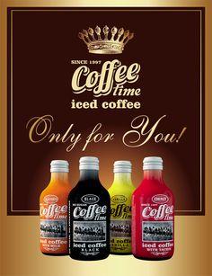 iced coffee COFFEE time