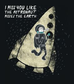 Lonesome astronaut. Bea R Vaquero