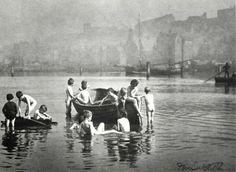 """Water Rats"" Frank M. Sutcliffe -1886"