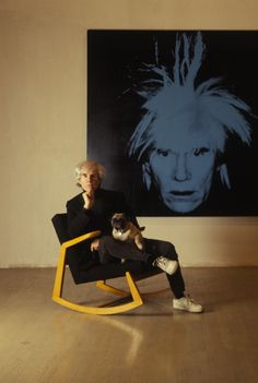 """indesition: """" Andy Warhol """""""