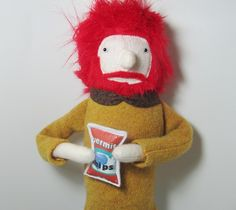 Red-haired Boyfriend Fabric Stuffed Doll